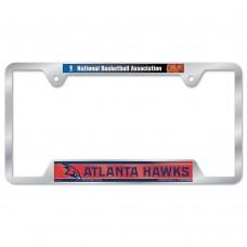 Atlanta Hawks Metal License Plate Frame