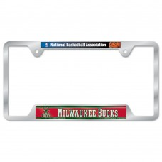 Milwaukee Bucks Metal License Plate Frame