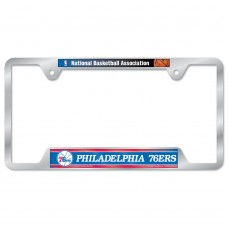 Philadelphia 76ers Metal License Plate Frame