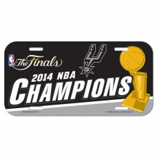 San Antonio Spurs License Plate