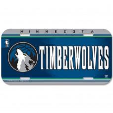 Minnesota Timberwolves License Plate