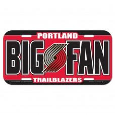 Portland Trail Blazers License Plate
