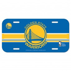 Golden State Warriors License Plate