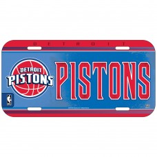 Detroit Pistons License Plate