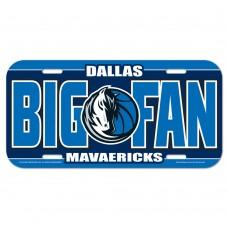 Dallas Mavericks License Plate