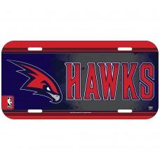 Atlanta Hawks License Plate