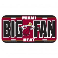Miami Heat License Plate