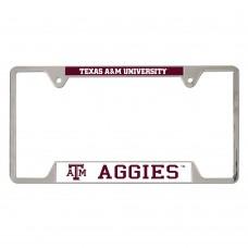 Texas A&M University Metal License Plate Frame