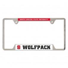 North Carolina State University Metal License Plate Frame