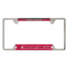 Arkansas University of Metal License Plate Frame