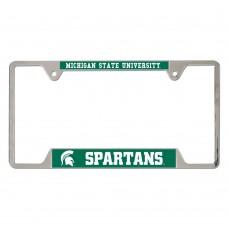 Michigan State University Metal License Plate Frame