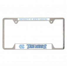 North Carolina University of Metal License Plate Frame