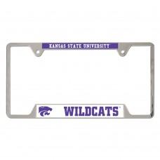 Kansas State University Metal License Plate Frame