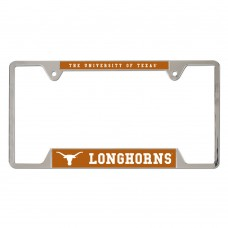 Texas University of Metal License Plate Frame