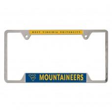 West Virginia University of Metal License Plate Frame
