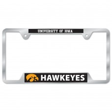Iowa University of Metal License Plate Frame