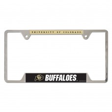 Colorado University of Metal License Plate Frame