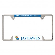 Kansas University of Metal License Plate Frame