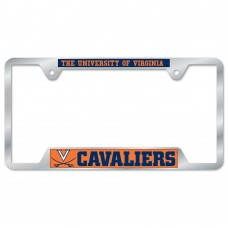 Virginia University of Metal License Plate Frame