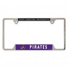 East Carolina University Metal License Plate Frame