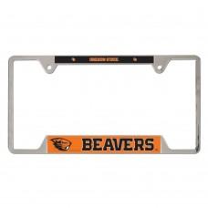 Oregon State University Metal License Plate Frame