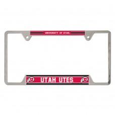 Utah University of Metal License Plate Frame