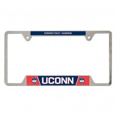 Connecticut University of Metal License Plate Frame