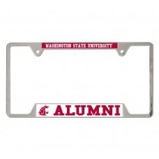 Washington State University Metal License Plate Frame