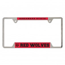 Arkansas State University Metal License Plate Frame