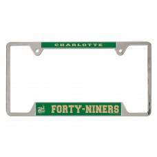 North Carolina Charlotte Metal License Plate Frame