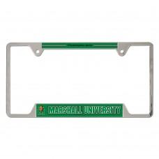 Marshall University Metal License Plate Frame