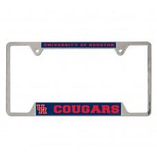 Houston University of Metal License Plate Frame