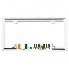 Miami Florida University of License Plate Frame