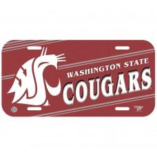 Washington State University License Plate