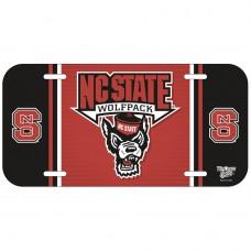 North Carolina State University License Plate