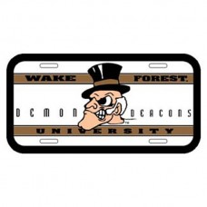 Wake Forest University License Plate