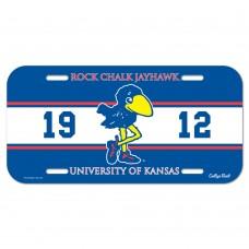 Kansas University of 1912 License Plate
