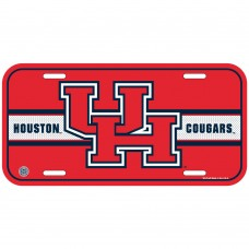 University of Houston Red Letters License Plate