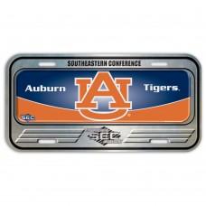 Auburn University Metal License Plate