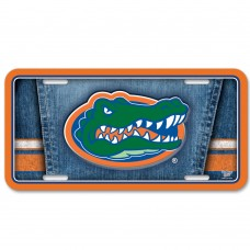 Florida University of Metal License Plate