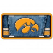 Iowa  University of Metal License Plate