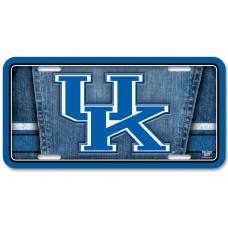 Kentucky University of Metal License Plate