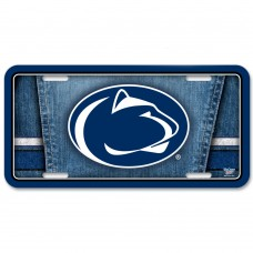 Penn State University Metal License Plate