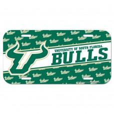South Florida University of Bulls License Plate