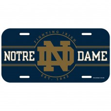 Notre Dame Name License Plate