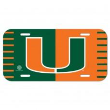 Miami (Florida) University of License Plate