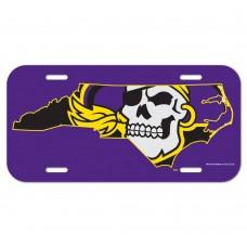 East Carolina University License Plate