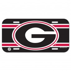 Georgia University of License Plate