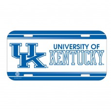 Kentucky University of License Plate