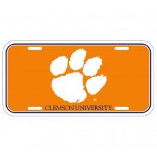 Clemson University License Plate